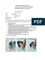 Laporan Sosialisasi Spill Kit
