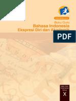 Pegangan Guru Bahasa Indonesia Kelas X