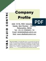 Viba Fluid Control Company Profile - Valves