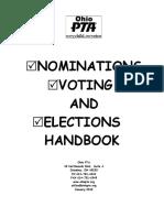 Nominations, Voting & Elections Handbook