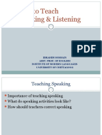 Speaking & Listening.ppt