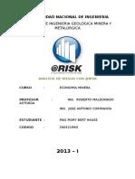 Trabajo @Risk
