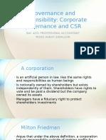 CG and CSR