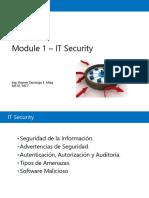 Module 1 IT Security