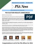 PSA Newsletter Dec. 2015