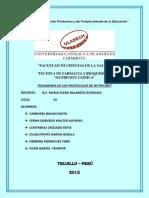 Practica n1 Protocolos y Manuales Unidad Soporte Nutricional