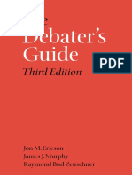 Ericson Et Al 2003 the Debater's Guide
