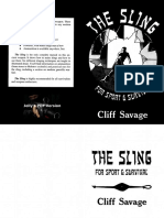 The Sling - For Sport and Survival by Cliff Savage