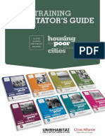 Housing the Poor in African Cities - Training Facilitator's Guide