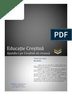 Educaţie Creştină