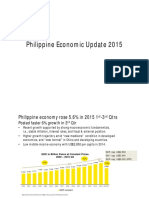 Philippine Economic Update 2015