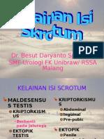 kuliah kedokteran Kelainan Isi Skrotum