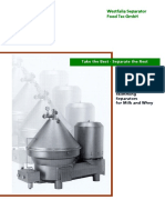 Food Tec Separators (Capacities & Feed Pressures)