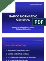 Teórica Marco Normativo CPU CE 19-3-08