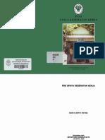 Pos Upaya Kesehatan Kerja dari depkes 2006