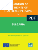Promotion of the Rights of Trafficked Persons in Bulgaria