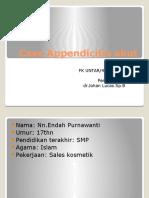 Case Appendicitis Akut