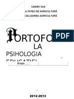 portofoliu psihologia educatiei