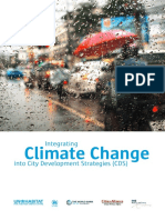 Integrating Climate Change into City Development Strategies