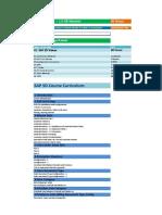 SAP SD Course Content Details
