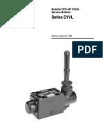 Manual Valve Bul 2531-M11 D1VL