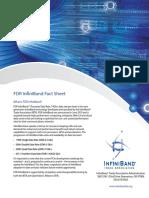 FDR Fact Sheet