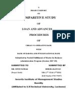 Loan and Advances Procedures of Urban-Baroda-Punjab Bank.doc