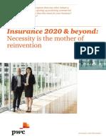 Pwc Insurance 2020 and Beyond