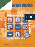 Catalog Laborator - materiale didacticeNova