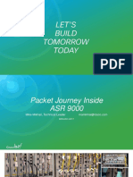Packet Journey inside ASR 9000