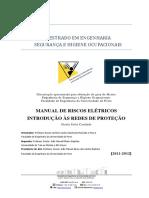 MANUAL DE RISCOS ELÉTRICOS INTRODUÇÃO ÀS REDES DE PROTEÇÃO