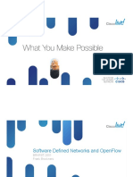 Software Defined Networks and OpenFlow
