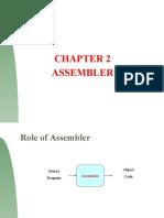 Chapter 2 Assembler