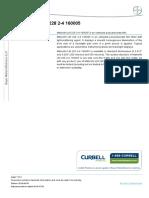 Polycarbonate Film Makrofol LM228 160005 Curbell