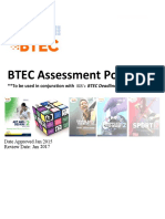 btec assessment policy - revised jan 2o15