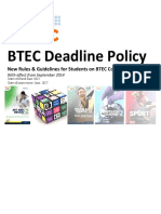 btec deadline policy - jan 2015