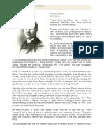 A Brief Biography of Thomas Edison