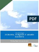 Geo-Estrategia. UCRANIA TURQUIA Y ARABIA SAUDITA