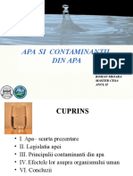 Proiect contaminanti