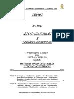 Temario Materias Socio Culturales y Tecnico-Cientificasgua Civil