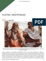 Platón _ Aristóteles _ Sophiaveda