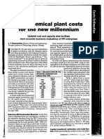 Petrochemical Plant Costs for the New Millennium