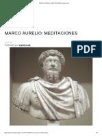 Marco Aurelio_ Meditaciones _ Sophiaveda