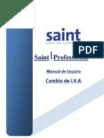 Manual Cambio de IVA Saint 5