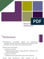 Fascia Peritoneum