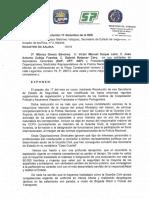 Escrito a SES sobre Injerencia Funciones GC