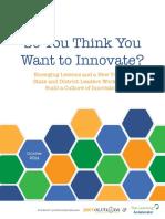 2Rev-TLA Assessing Culture of Innovation
