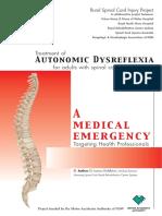 Auto Dysreflexia Info