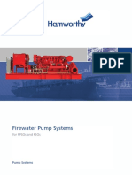 Firewater Pump Systems for FPSOs and FSOs BROCHURE