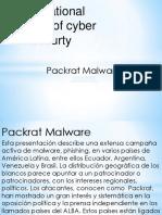 Packrat malware iicybersecurity